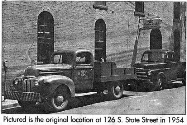 Bold Machine Works original location in 1954